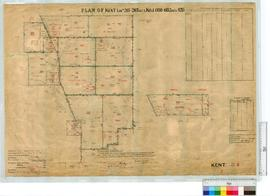 Locations 261-267, Kojonup locations 6150-6152 and 4215 by H. Russell, Fieldbook 104, 107 [scale:...