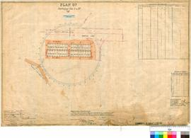 Dwellingup 331. Plan of Dwellingup, Lots 1 to 32. W. F. Rudall [scale: 2 chains to 1 inch].