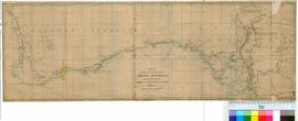 Map of Mr Eyre's routes into Central Australia and overland from Adelaide to King George&#03...