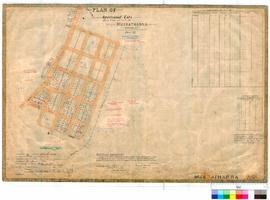 Meekatharra 216/2. Plan of Meekatharra Townsite showing roads and Meekathong or Lukes Creek by A....
