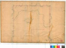 Worriloo 31. Survey of Worriloo Townsite by I.W. & A.C. Gregory showing Bailup Brook and Good...