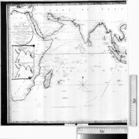 A Chart of the Indian Ocean with a part of the Pacific Ocean [b/w photographic print only].