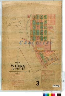 Wiluna Sheet 3 [Tally No. 505273].