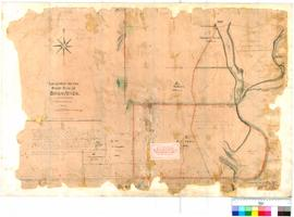 Folio XIV. Plan showing area around Cruise's [Cruse's] Mill. P.L.S. Chauncy.