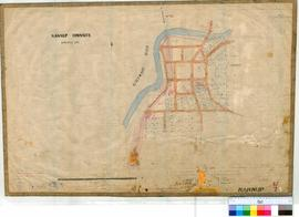 Nannup 47/2. Plan of Nannup Townsite showing Blackwood River, Dry Brook, Lower Blackwood Bridge, ...