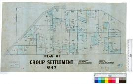Group Settlement No. 47