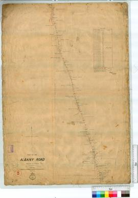 Part of the Albany Road to Kojonup, Sheet 5 by H.S. Ranford [scale: 20 chains to an inch].