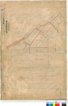 Wonnerup 25/2. Plan of Townsite of Wonnerup showing Lots by Austin, Carey, & Denny [scale: 6 ...