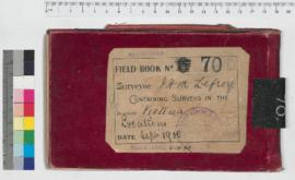 J.H.M. Lefroy Field Book No. 70
