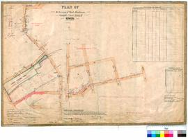 Gingin 10/7. Plan of Resurveys of Weld, Brockman, Constable, Fraser Streets etc., Gingin. A. J. Wells [scale: 2 chains to an inch].