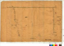 Portion WA Land Co. Location 277 by W.H. Angove, Location 413 by G.R. Turner (Arthur River) [scale: 30 chains to an inch].