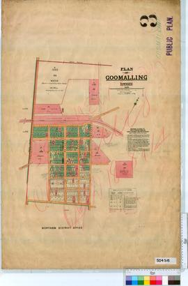 Goomalling Sheet 3 [Tally No. 504315].