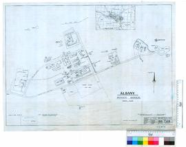 Princess Barracks, Albany - locality & buildings layout.