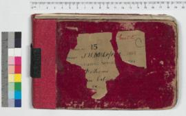 J.H.M. Lefroy Field Book No. 15
