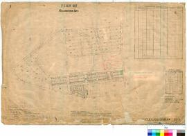 Kellerberrin 189/3. Plan of Kellerberrin Lots. Fred Brockman [scale: 3 chains to an inch].