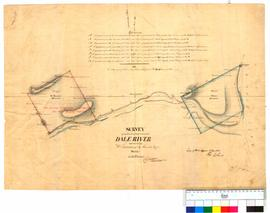 Survey of land near Dale River applied for by W. Tanner and S. Moore by Charles Wittenoom [Tally No. 005244].