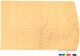 Detailed pencil map of coastline and inland areas from Wilsons Inlet to Point D'Entrecasteaus by J.S. Roe [Tally No. 005335].