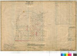 Narrogin 160/9. Plan showing additional Lots in Narrogin Townsite Lots 592 (Reserve 9739) & 5...