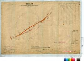 Road Survey through East Locations 21, 17, 18 and 22. Corr. 79/10 by C.E. Watkins, Fieldbooks 62,...
