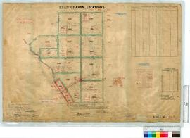 Locations N.N.E. of Townsite of Nukarni and road from Wyalkatchem to Merredin by N. Perry, Fieldb...