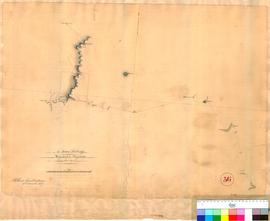 Sir James Stirling's route from Kojonup to Pinjarra, April 1837. Compiled by A. Hillman, Dec...