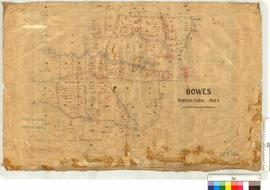 The Bowes Agricultural Area SW of Northampton, Lots 3-43 by J.H.M. Lefroy, Fieldbooks 79, 80, 83 & 84 and G.M. Nunn, Fieldbook 25.