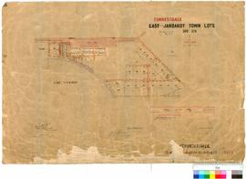 Forrestdale 309. Forrestdale town lots. Fred Brockman [scale: 5 chains to 1 inch].