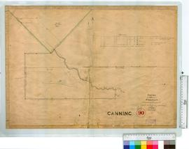 Survey of 420 acres at Woongan Canning Location 22 applied for by G. & J. Armstrong by J.W. G...