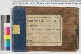 P.L.S. Chauncy Field Book No. 6