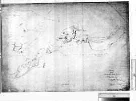 Survey of Part of the North West Coast by P. King [b/w photographic print only].