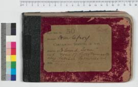 J.H.M. Lefroy Field Book No. 30