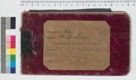 J.H.M. Lefroy Field Book No. 32