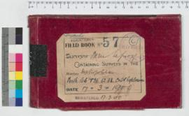 J.H.M. Lefroy Field Book No. 57