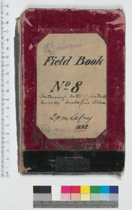 J.H.M. Lefroy Field Book No. 8