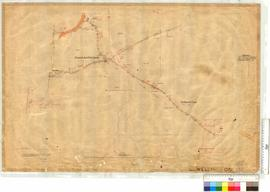 Roads at Australind, Cemetery and the Treendale Road by N.W. Brazier, Fieldbook 30 [scale: 10 cha...