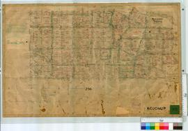 South-West of Moojebing Townsite (Plan 60/1) bounded by Cornwall Road, Trimmer Road, Monslow Road and Newstead Road [scale: 20 chains to an inch, undated].