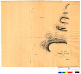 Chain survey of the Collie River by Thomas Watson, sheet 15 [Tally No. 005160].