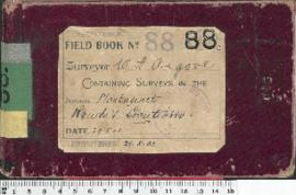 W.H. Angove Field Book No. 88. Containing surveys in the districts Plantagenet. Roads and locations