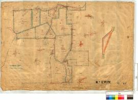 Mt Erin Estate subdivision Sheet 4 lots 75-83, 87-89 and portion 90 [scale: 20 chains to an inch].