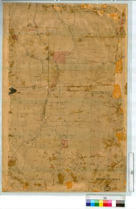 Avon Roads, Sheet 2, vicinity of York & Beverley by J. Forrest, Fieldbook 3 [scale: 80 chains to an inch, Tally No. 005481].