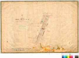 Geraldton 7/3. Plan of Geraldton town lots 750 to 795. G. M. Nunn, J. H. M. Lefroy [scale: 4 chains to an inch].