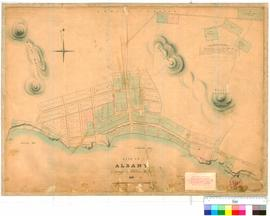 Albany 30E. Site of Albany as surveyed by A. Hillman, Assistant Surveyor, 1836 (drawn 1844) [scal...
