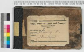 P.L.S. Chauncy Field Book No. 2