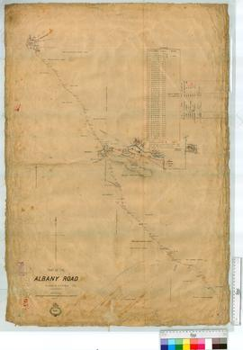 Part of Albany Road, vicinity of the Hotham River, sheet 1 by H.S. Randford [scale: 20 chains to ...