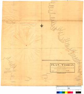 Plan of Torbay Sheet 5 (shows 2nd lake) by D. Smith [Tally No. 005295].