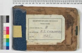 P.L.S. Chauncy Field Book No. 8