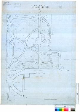 Sketch plan of Stirling Square