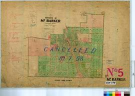 Mount Barker Sheet 5 [Tally No. 504774].