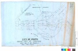 City of Perth proposed circus and improvements, Kings Park Road & Malcolm Street [scale: 20 f...