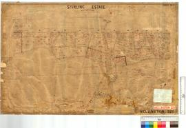 Sheet 2 Stirling Estate, by F. Brockman, W.J. Rae & H.A. Love [scale: 10 chains to an inch].